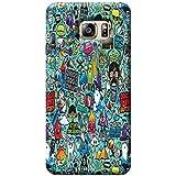 Tecozo Designer Printed Back Cover For Samsung Galaxy S6, Samsung Galaxy S6 Back Cover, Hard Case For Samsung Galaxy S6, Case Cover For Samsung Galaxy S6, (Grafitti Case Design,Pattern)