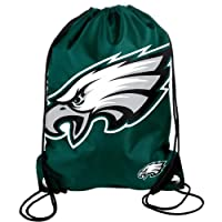 NFL Football 2013 Official Team Logo Drawstring Backpack - Pick Team! (Philadelphia Eagles) by Forever Collectibles