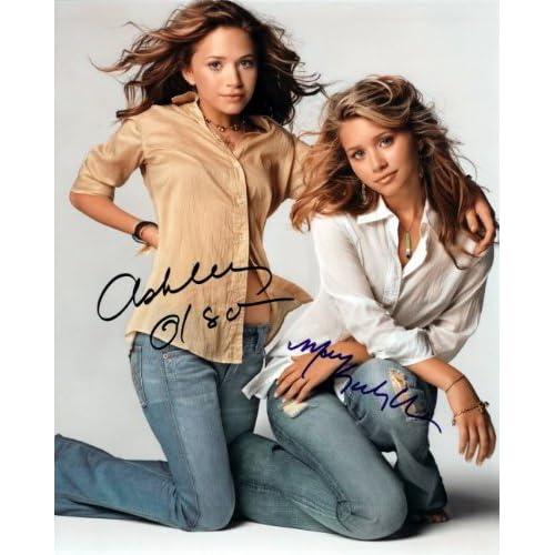 Amazon.com : Mary-Kate and Ashley Olsen 8x10 Autographed Photo Reprint