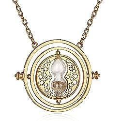 Via Mazzini Famous Harry Potter Time Turner Necklace For Unisex