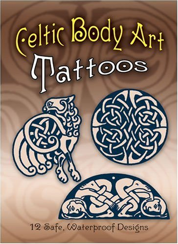 Celtic Body Art Tattoos (Temporary Tattoos)
