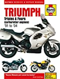 Triumph Trophy 900 1200 Repair Manual Haynes Service Manual Workshop Manual 1991-2003