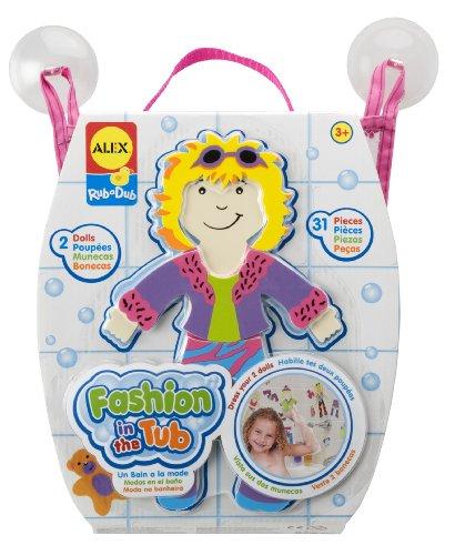 ALEX Toys Rub a Dub for Tub Fashion - 1