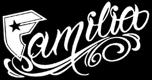 Famous Familia Logo Famous Familia Sticker Decal