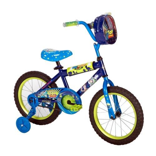 Huffy Toy Story Boys Bike, Blue/Green, 16-Inch