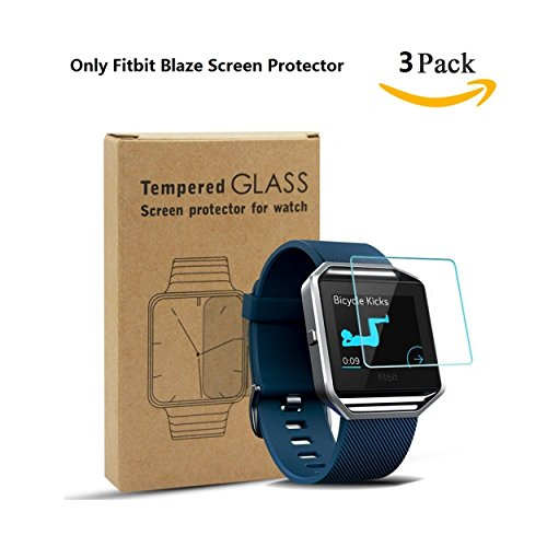 Vancle-Screen-Protector-for-Fitbit-Blaze-Smart-WatchTempered-Glass-25D-HD-Ultra-Clear-Film-3-PACK