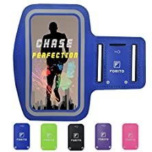 buy Forito Sport Armband For Apple Iphone 6 Plus (5.5 Inch) & New Iphone 6S Plus & Samsung Galaxy Note 4 Note 3 Note 2 Note Edge & Galaxy S5 Galaxy S6 S6 Edge,Best For Gym, Workouts, Sports Running (Blue)