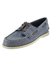 Sperry Men's Authentic Original 3-Eye Shoe with FREE Sperry No Show Socks Bundle