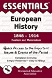 European History: 1848 to 1914 Essentials (Essentials Study Guides) (0878917098) by Walker, William T.