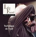 echange, troc Petit Véhicule - Cahier d'études Léo Ferré 6, techniques de l'exil