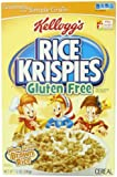 \Kellogg's Rice Krispies Gluten Free Cereal, Whole Grain Brown Rice, 12-Ounce Boxes (Pack of 4) (Discontinued By Manufacturer)