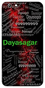 Dayasagar (Extremely Kind, Sea Of Mercy) Name & Sign Printed All over customize & Personalized!! Protective back cover for your Smart Phone : Apple iPhone 6-Plus