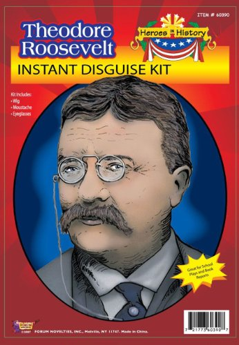 Theodore Roosevelt Costume Kit School Project Kit 60390