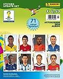 Panini 506990 - Fifa World Cup Brasil 2014, Sammelsticker Update Set mit 71 Sticker
