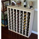 VinoGrotto 56 Bottle Table Wine Rack