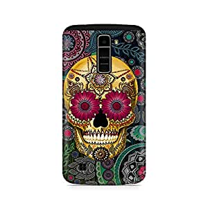 Mobicture Skull Abstract Premium Printed Case For LG K10