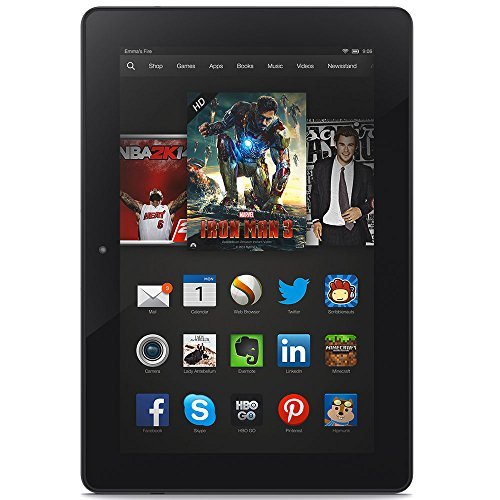 Certified Refurbished Kindle Fire HDX 8.9″, HDX Display, Wi-Fi and 4G LTE, 32 GB – Includes Special Offers (Previous Generation – 3rd)