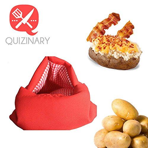 Microwave Potato Baking Bag Instruction