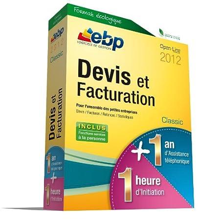 EBP Devis et Facturation Classic 2012  + Services VIP