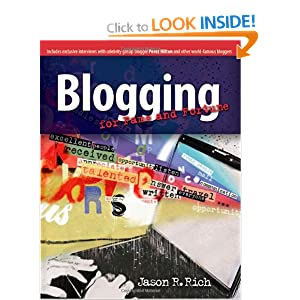 Image: Cover of Blogging for Fame and Fortune