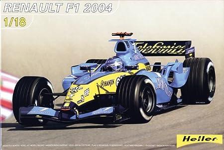 Heller - 80797 - Maquette -Voiture - Renault F1 - Echelle 1/18