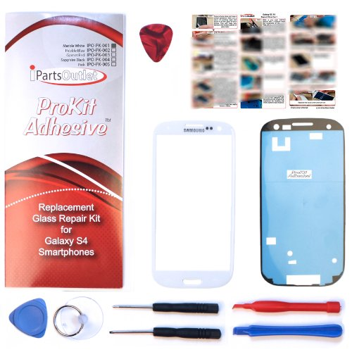 Generic Outer Lcd Screen Lens Top Glass Replace For Samsung Galaxy S3 S 3 I9300 White