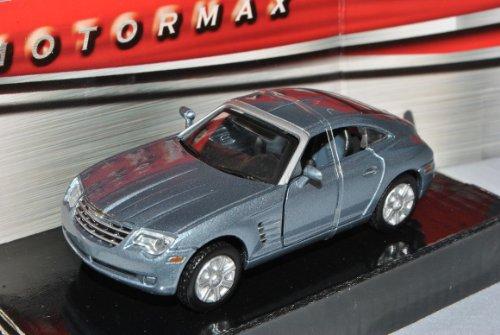 Chrysler Crossfire Coupe Grau 2003-2007 1/43 Motormax Modell Auto