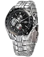 Curren Expedition Auto Date Analog Black dial Men's Watch-CUR021