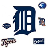 MLB Detroit Tigers Classic Logo Wall Decal at Amazon.com