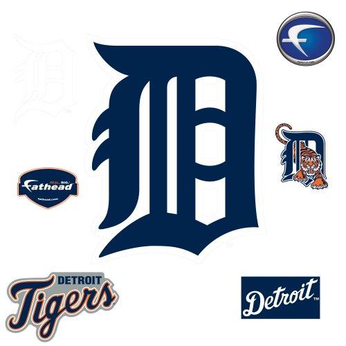 MLB Detroit Tigers Classic Logo Wall Decal Fathead Wall Stickers & Murals autotags B0035HJ4EI