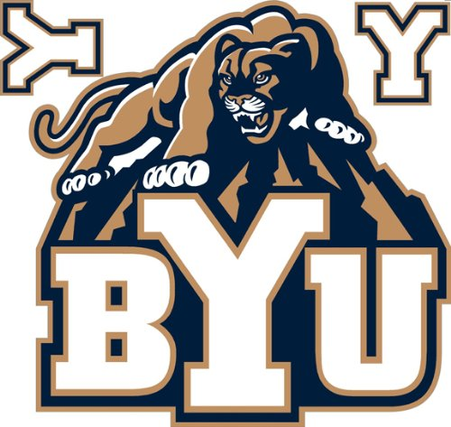 """Brigham Young University Removable Logo - 24x24"""""""