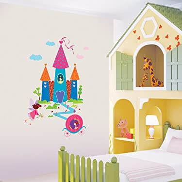 Easy Instant Decoration Wall Sticker Decal - Dream Castle
