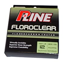 P-Line Clear 300 Yard Floroclear Fishing Line