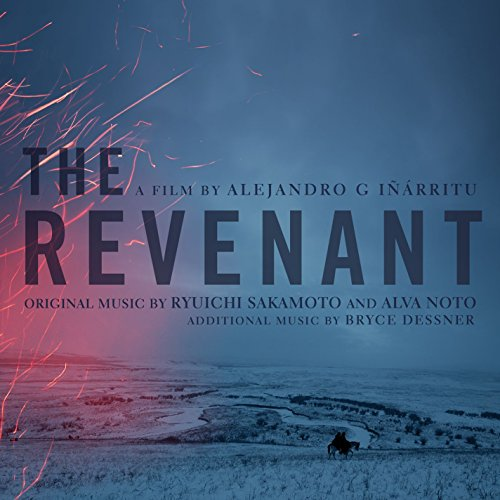 Original album cover of The Revenant (Original Motion Picture Soundtrack) by Ryuichi Sakamoto, Alva Noto, and Bryce Dessner