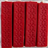 NO1 5Pcs Decor Sealing Seal Wax Sticks Wicks For Postable Deep Red