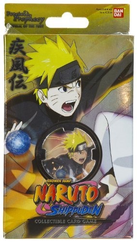 Naruto Shippuden Card Game Foretold Prophecy Theme Deck Spiral of the Fury