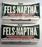 2-5.5 Oz. Bars Fels-Naptha Soap by Purex