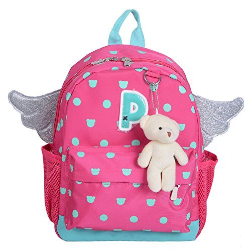 flyingsky-wing-bear-kids-book-backpack-baby-girls-school-bag-rose