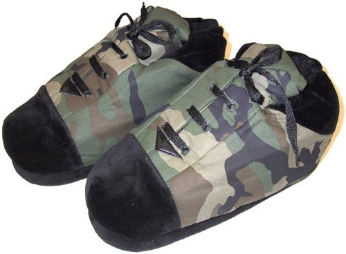 Cheap Camo Slippers for Women and Men (B0077QU7BM)