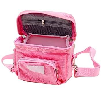 Vktech® Canvas & Synthetic Leather Polka Dot backpack shoulder bag 2