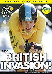 Tour de France 2012: British Invasion - featuring Bradley Wiggins (Extended Highlights) [DVD]