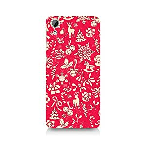Ebby Gift Wrapped Christmas Premium Printed Case For HTC Desire 826