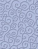 Cuttlebug 37-1142 A2 Embossing Folder, D'vine Swirls