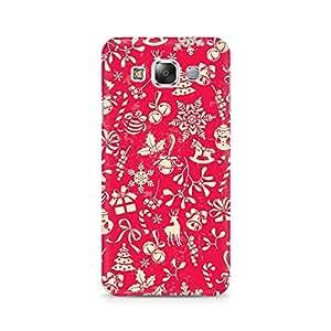 Ebby Gift Wrapped Christmas Premium Printed Case For Samsung E7