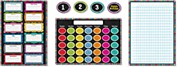 Colorful Chalkboard Bulletin Board Set