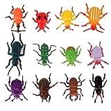 12pcs Escarabajos Falsos Juego Juguete Truco Pretented