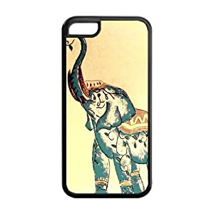 custom indian elephant protective back cover for iphone 5c home kitchen