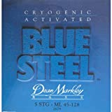 Dean Markley Blue Steel , 5-String ML 2679 Bass Guitar Strings (.045-.128)