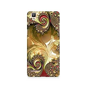 Mobicture Pattern Premium Designer Mobile Back Case Cover For Oppo F1