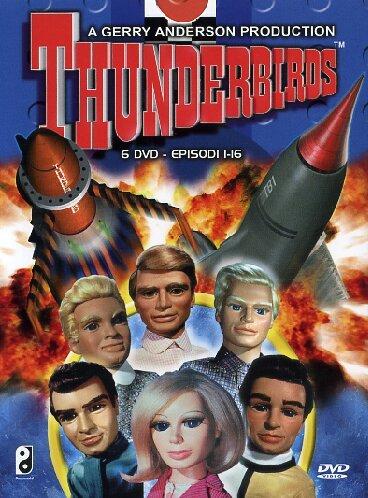 Thunderbirds(edizione integrale rimasterizzata in digitale)Volume01Episodi01-16 [Import italien]